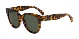 Gafas de Sol Celine CL 41386/F/S AUDREY ASIAN FIT E88 (85) TORTOISE / GREY GREEN