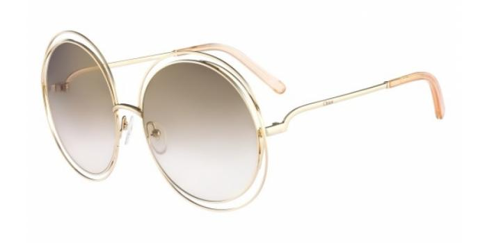 Gafas de sol Chloe CE114S 724 GOLD/TRANSPARENT PEACH