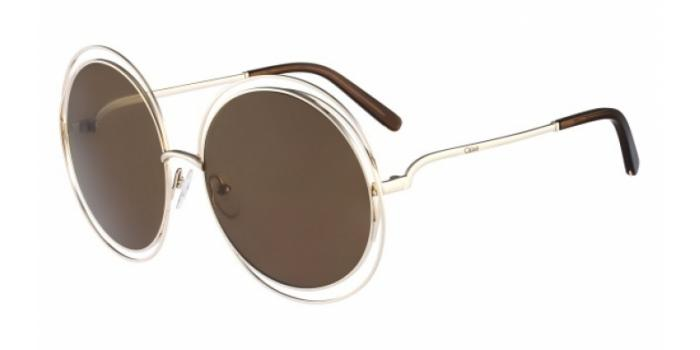 Gafas de sol Chloe CE114S 743 GOLD/TRANSPARENT BROWN