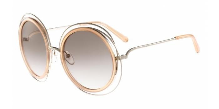 Gafas de sol Chloe CE120S 724 GOLD/TRANSPARENT PEACH