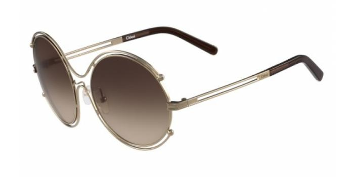 Gafas de sol Chloe CE122S 786 ROSE GOLD/BROWN