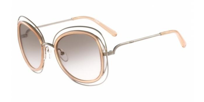 Gafas de sol Chloe CE123S 724 GOLD-TRANSPARENT PEACH
