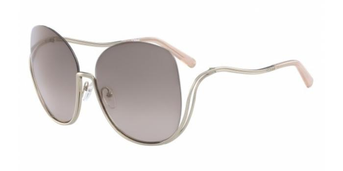 Gafas de sol Chloe CE125S 724 GOLD/TRANSPARENT PEACH