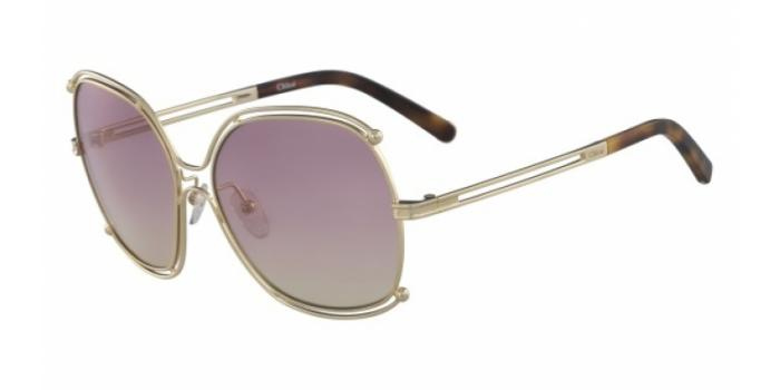 Gafas de sol Chloe CE129S 702 GOLD/HAVANA/GRAD ROSE HONEY LE