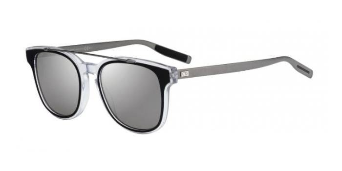 Gafas de sol Dior Homme BLACKTIE211S LCP (SF) BLACK/CRYSTAL/RUTHENIUM / BLACK MIRROR