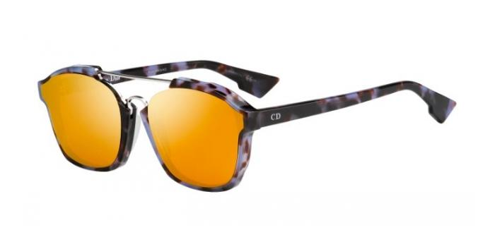 Gafas de sol Dior DIORABSTRACT YH0 (A1) HAV MAUVE / ORANGE MIRROR