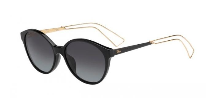Gafas de sol Dior DIORCONFIDENT1 QFE (HD) BLACK / GREY GRADIENT