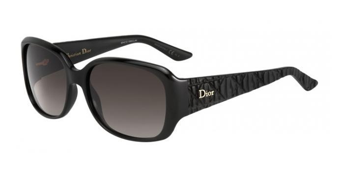 Gafas de sol Dior DIORFRISSON2 BIL (HA) SHINY BLACK MATTE / BROWN GRADIENT