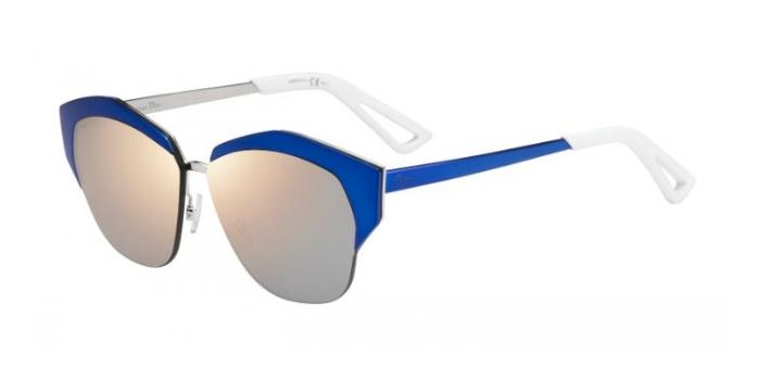 Gafas de sol Dior DIORMIRRORED I22 (0J) BLACK BLUE SH / GREY ROSE GOLD GRADIENT