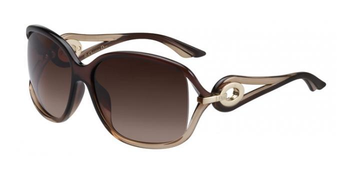Gafas de sol Dior DIORVOLUTE2 5Y7 (J6) BROWN HONEY / BROWN GRADIENT