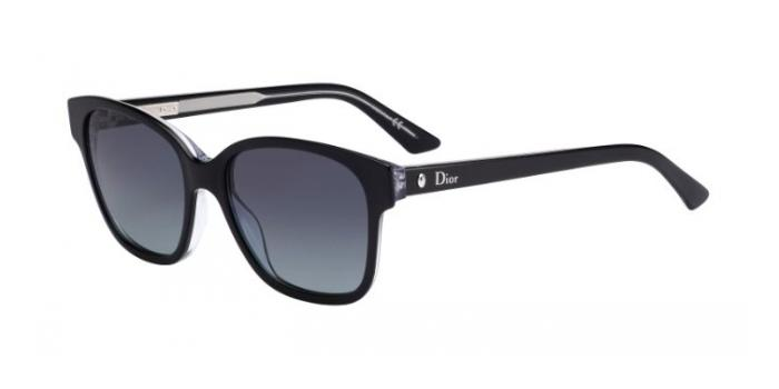 Gafas de sol Dior MONTAIGNE8S G99 (HD) BLACK CRYSTAL / GREY GRADIENT
