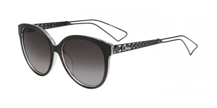 Gafas de sol Dior DIORAMA2 TGT (HA) GREY/CRYSTAL / BROWN SHADED