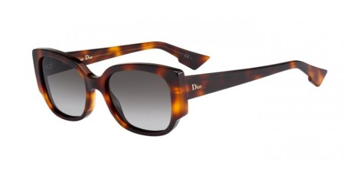 Gafas de sol Dior DIORNIGHT2 05L (HA) HAVANA / BROWN GRADIENT