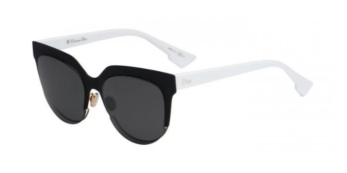 Gafas de sol Dior DIORSIGHT2 REV (Y1) MATTE BLACK WHITE / GREY