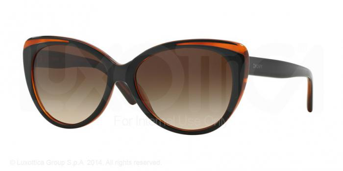 Gafas de sol DKNY DY4125 363913 TOP BLACK ON HAVANA - BROWN GRADIENT
