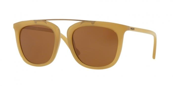 Gafas de sol DKNY DY4146 373373 BROWN YELLOW - BROWN SOLID