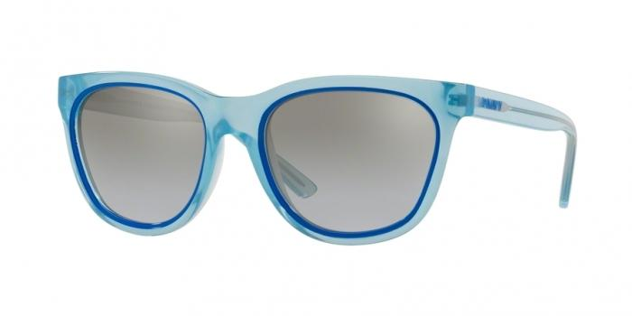 Gafas de sol DKNY DY4159 37696V SHINY LIGHT BLUE - GRAY GRADIENT FLASH