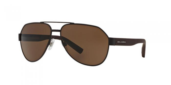 Gafas de sol Dolce & Gabbana DG2149 127473 BROWN RUBBER - BROWN