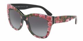 Gafas de Sol Dolce & Gabbana DG4270 31278G PRINT ROSE ON BLACK - GREY GRADIENT