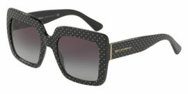 Gafas de Sol Dolce & Gabbana DG4310 31268G POIS WHITE ON BLACK - GREY GRADIENT