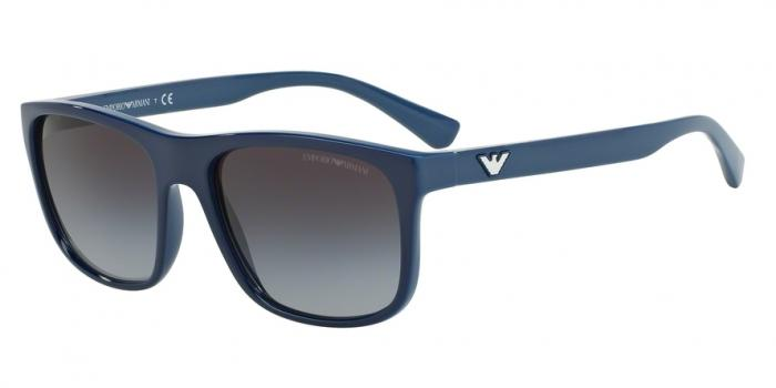 Gafas de sol Emporio Armani EA4085 55568G TOP DARK BLUE ON AZURE - GREY GRADIENT