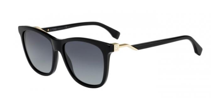 Gafas de sol Fendi FF 0199/S 807 (HD) BLACK / GREY GRADIENT