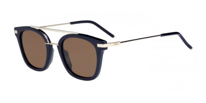 Gafas de sol Fendi FF 0224/S URBAN PJP (70) BLUE / BROWN