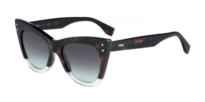 Gafas de sol Fendi FF 0238/S COLOR BLOCK PHW (IB) HAVGREEN / GREY GREEN