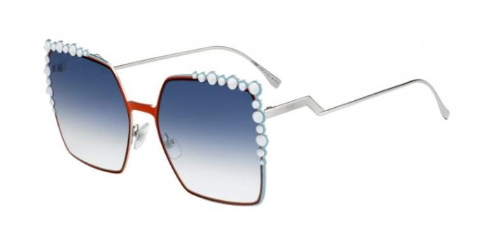 Gafas de sol Fendi FF 0259/S CAN EYE L7Q (08) ORANGE / DK BLUE SF
