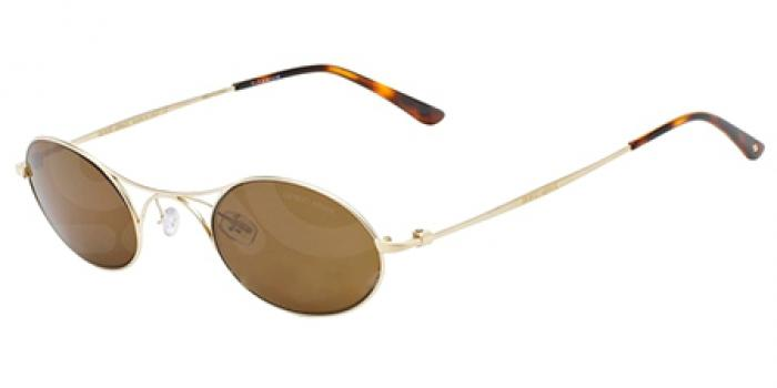 Gafas de sol Giorgio Armani AR6018TK LUXURY (AR) 30717C MATTE PALE GOLD - DARK BROWN