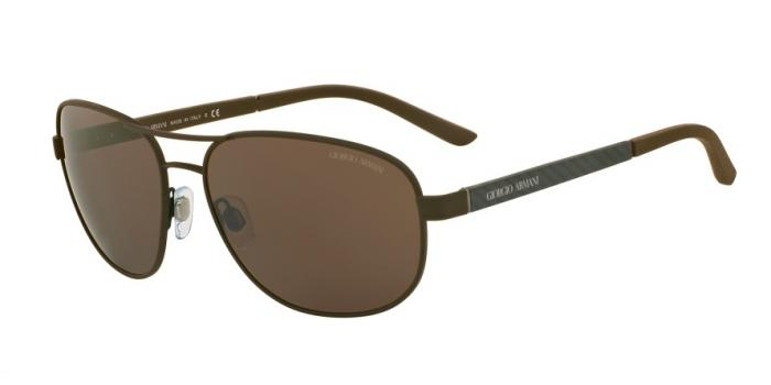 Gafas de sol Giorgio Armani AR6036 313873 BROWN RUBBER - BROWN