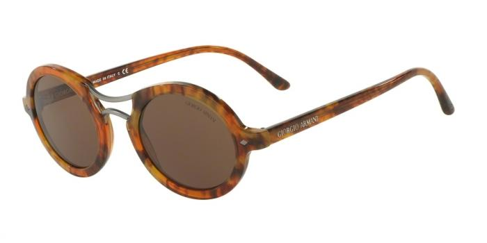 Gafas de sol Giorgio Armani AR8072 519153 STRIPED HAVANA - DARK BROWN