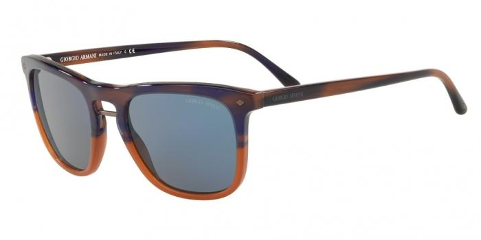 Gafas de sol Giorgio Armani AR8107 565856 BROWN B-COLOR - LIGHT BLUE