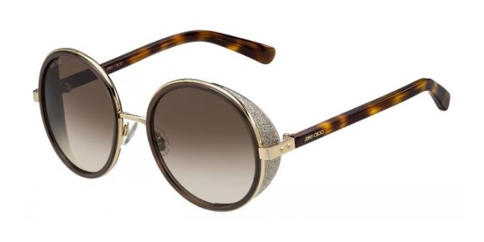 Gafas de sol Jimmy Choo ANDIE/S J7G (JD) GOLD BROWN HAVANA / BROWN GRADIENT