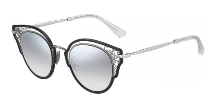 Gafas de sol Jimmy Choo DHELIA/S 284 (IC) BLK RUTH - GREY MS SLV