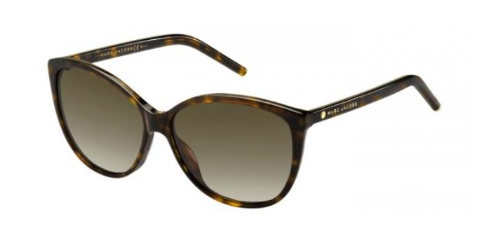 Gafas de sol Marc Jacobs MARC 69/S 086 (HA) DARK HAVANA / BROWN GRADIENT