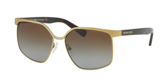 Gafas de sol Michael Kors MK1018 1145T5 PALE GOLD/DK TORTOISE - BROWN GRADIENT POLARIZED