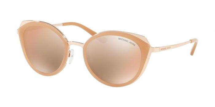 Gafas de sol Michael Kors MK1029 1026R1 ROSE GOLD/MILKY LT BROWN - ROSE GOLD FLASH
