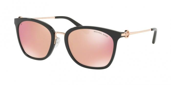 Gafas de sol Michael Kors MK2064 3005N0 BLACK - ROSE GOLD MIRROR POLAR