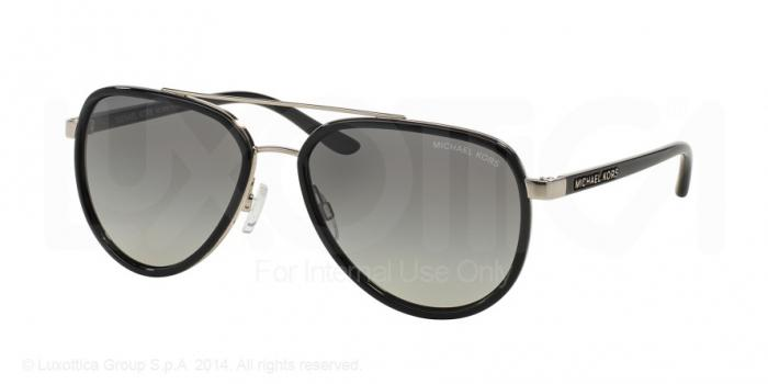 Gafas de sol Michael Kors MK5006 PLAYA NORTE 103311 BLACK/SILVER - GREY GRADIENT