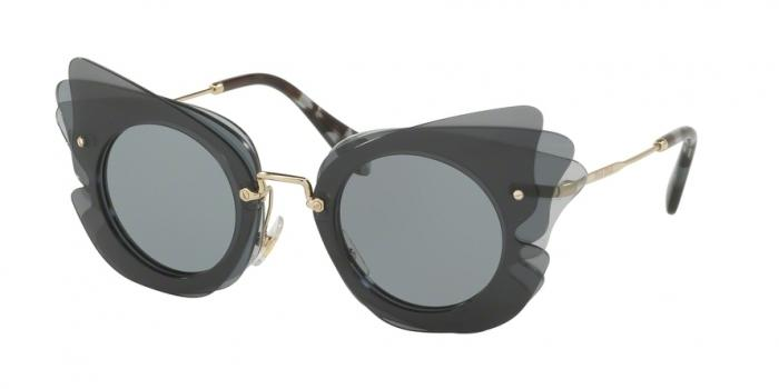 Gafas de sol MIU MIU MU 02SS VA43C2 DARK GREY/LIGHT GREY - GREY