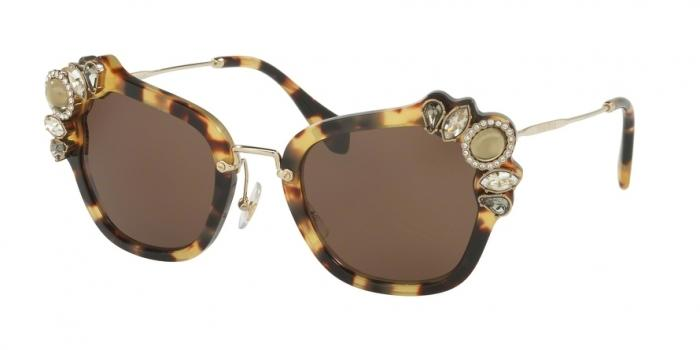 Gafas de sol MIU MIU MU 03SS 7S08C1 LIGHT HAVANA - BROWN