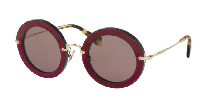 Gafas de sol MIU MIU MU 08RS U6A6X1 DARK VIOLET - PURPLE BROWN