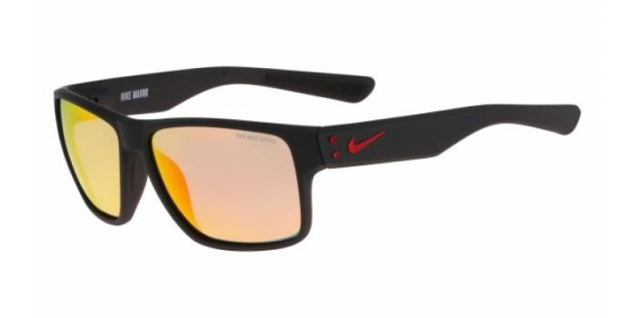 Gafas de sol Nike NIKE MAVRK R EV0773 006 MT BLK/GYM RED/GREY ML RED LEN