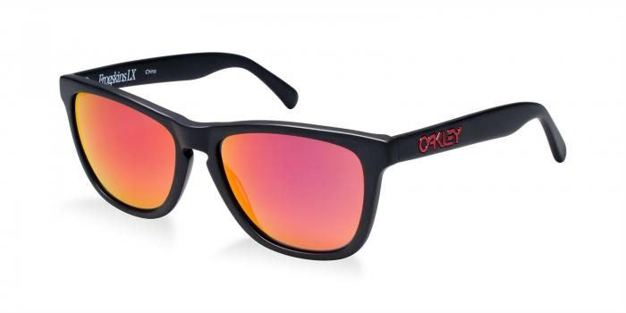 Gafas de sol Oakley OO2043 GLOBAL FROGSKIN LX 204302 MATTE BLACK - RUBY IRIDIUM