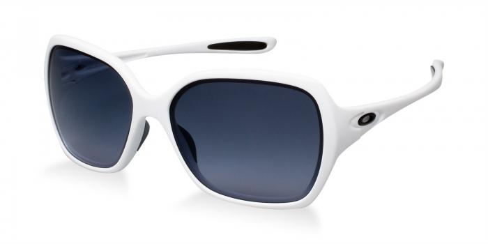 Gafas de sol Oakley OVERTIME OO9167 916704 POLISHED WHITE - BLACK GREY GRADIENT