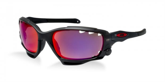 Gafas de sol Oakley RACING JACKET OO9171 917120 MATTE BLACK INK - OO RED POLARI/ BLK IRID VENTED