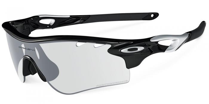 Gafas de sol Oakley RADARLOCK PATH OO9181 918136 POLISHED BLACK - CLEAR BLK IRD PHOTO ACTIVATED