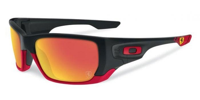 Gafas de sol Oakley OO9194 STYLE SWITCH 919424 MATTE BLACK - RUBY IRIDIUM