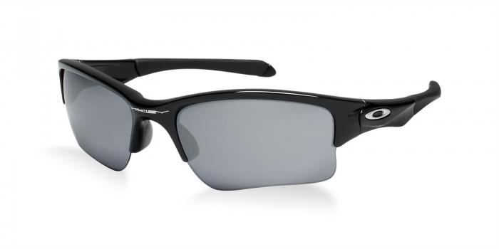 Gafas de sol Oakley OO9200 QUARTER JACKET 920001 POLISHED BLACK - BLACK IRIDIUM